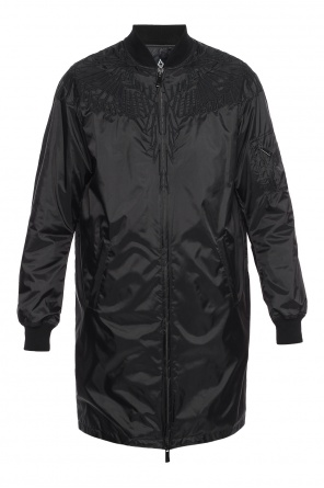 Long bomber jacket od Marcelo Burlon