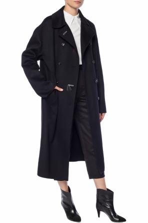 Double-breasted coat with pockets od Marni