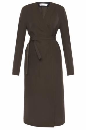 Single-vented coat od Victoria Beckham