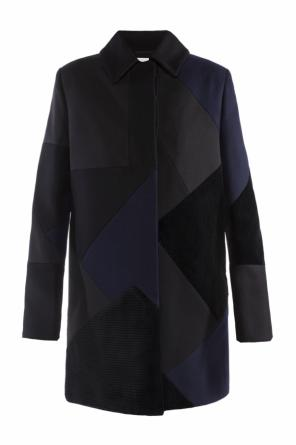 Patterned coat od Victoria Victoria Beckham