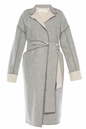 Coat without closure od Victoria Victoria Beckham