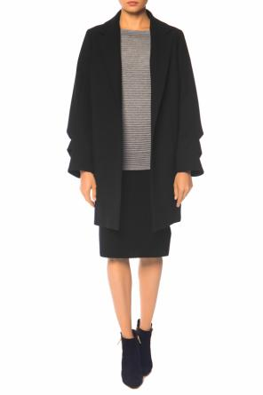Coat with gathered sleeves od Victoria Victoria Beckham