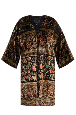 Long patterned top od Etro