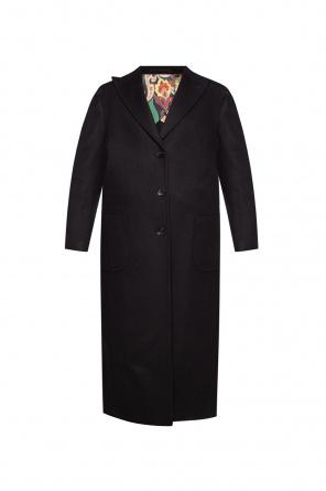 Coat with peak lapels od Etro