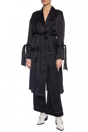 63a8ab0f103b33 Elephant keyring. 385.00€. Self-tie satin dress od Loewe ...