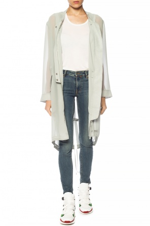 'elio' sheer coat od AllSaints