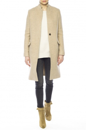 'evelyn' single-vented coat od AllSaints