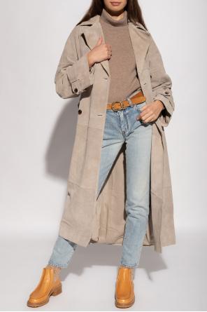 Double-breasted coat with belt od Samsøe Samsøe
