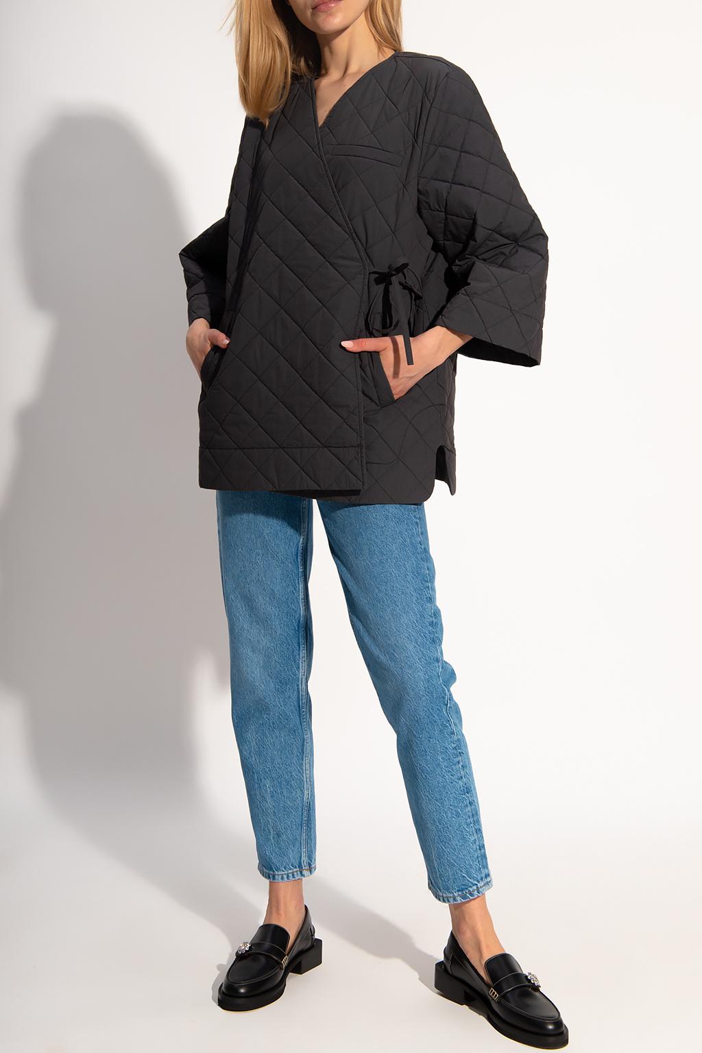 Ganni Quilted coat