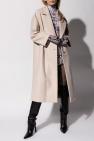 Philipp Plein Wełniany płaszcz