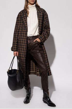 Checked coat od Kenzo