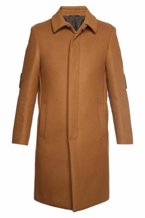 Eye motif coat od Fendi
