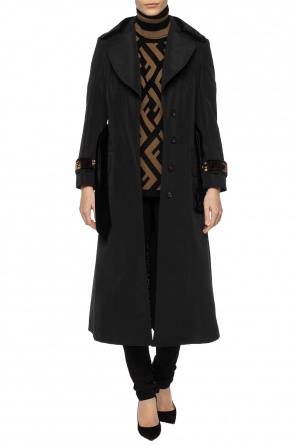 Double-collar coat od Fendi