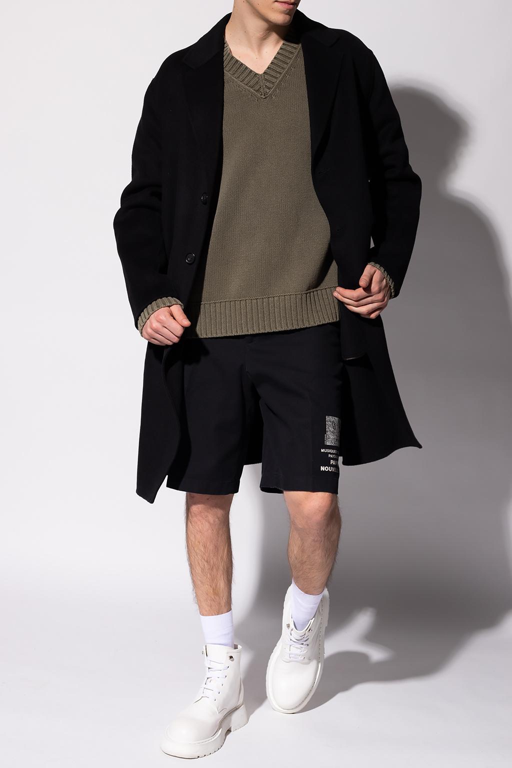 Acne Studios Wełniany płaszcz