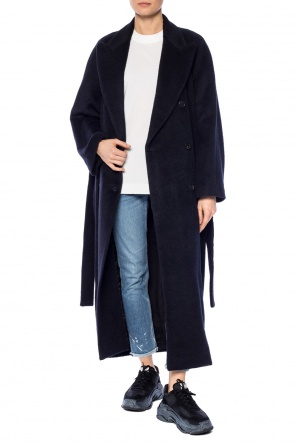 Belted double-breasted coat od Acne