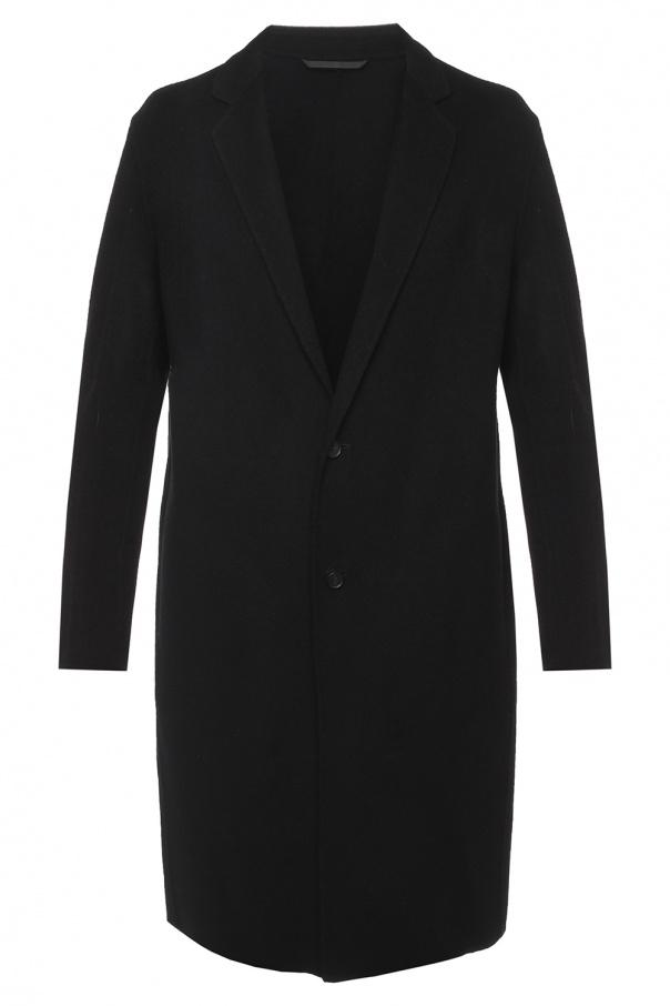 'foley' Coat With Notch Lapels by All Saints