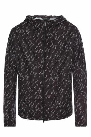 Jacket with lettering od Fendi