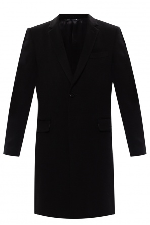 Notch lapel coat od Dolce & Gabbana