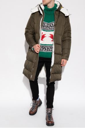 'harel' reversible coat od Moncler