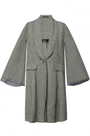 Checked coat od Golden Goose