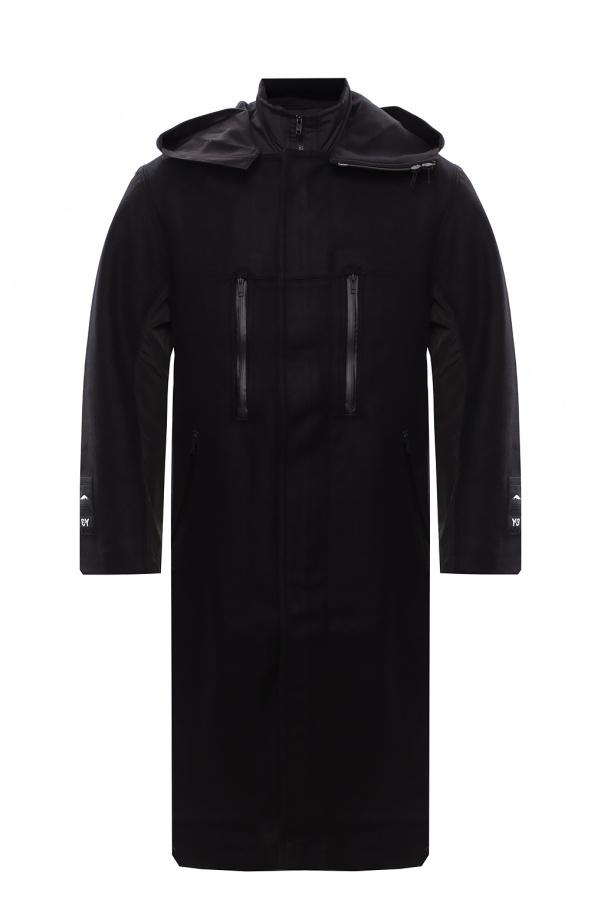Y-3 Yohji Yamamoto Hooded coat