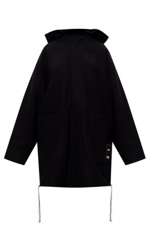 Hooded coat od Y-3 Yohji Yamamoto