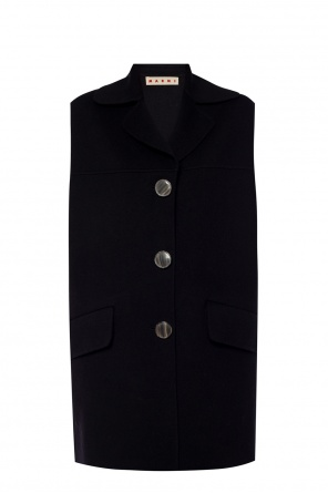 Notch lapel vest od Marni