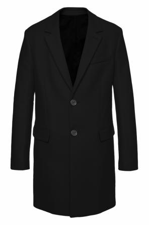 Single-vented coat od Ami Alexandre Mattiussi