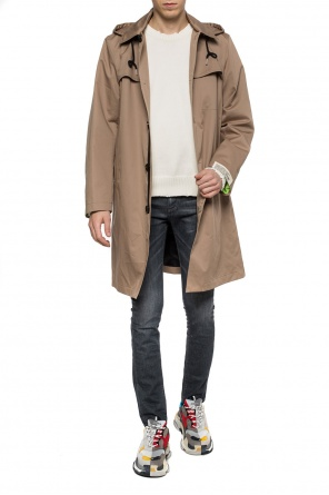 Hooded coat od Diesel