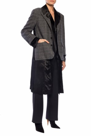 Two-layered coat od Junya Watanabe Comme des Garcons