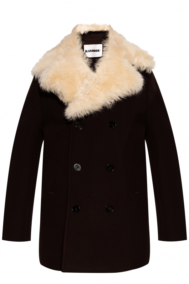 JIL SANDER+ Wełniany płaszcz