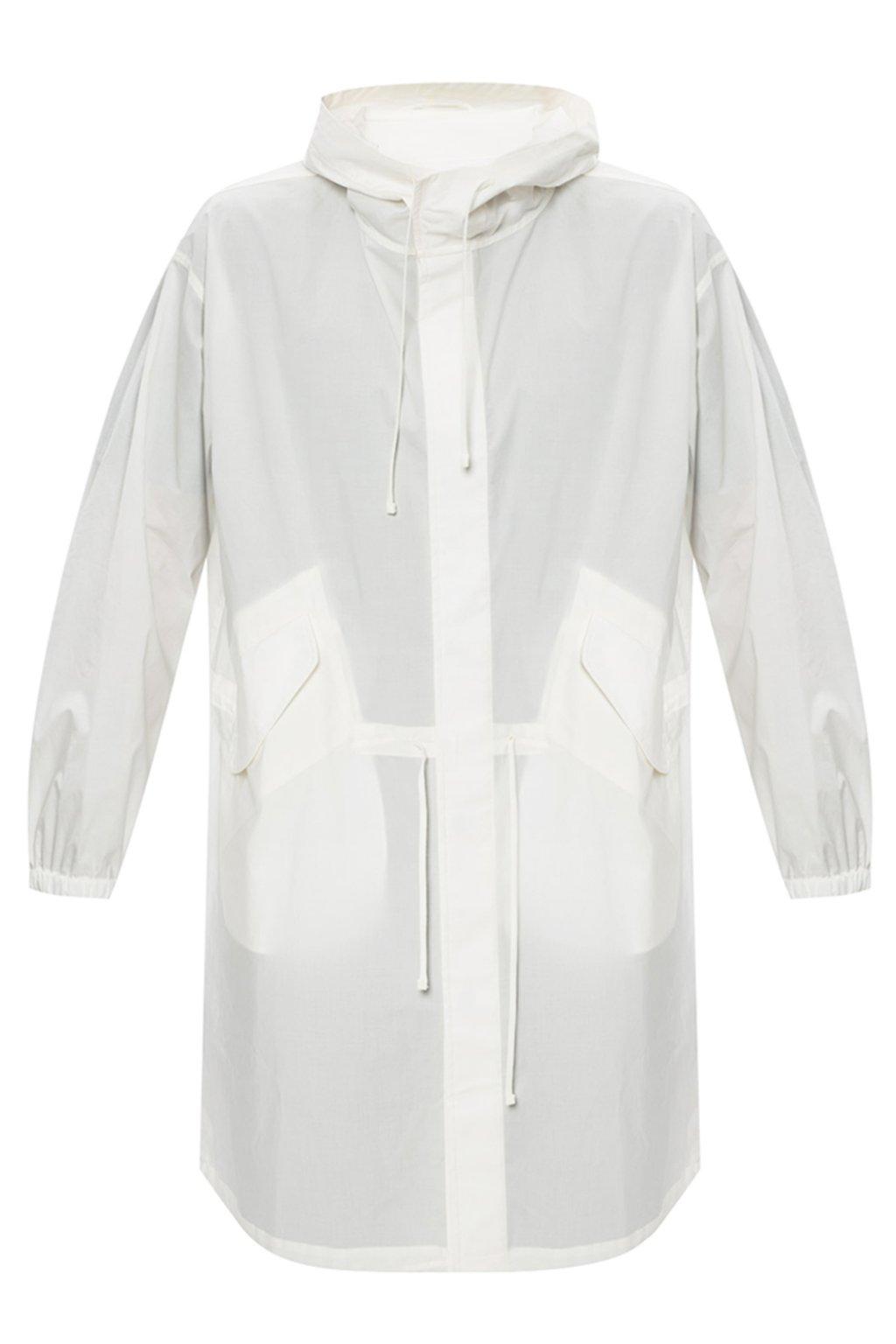 JIL SANDER Hooded coat