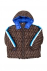 Fendi Kids Down coat with logo
