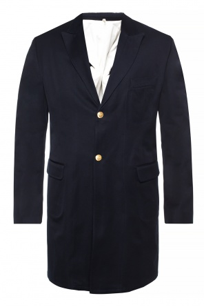Coat with notch lapels od Kent & Curwen
