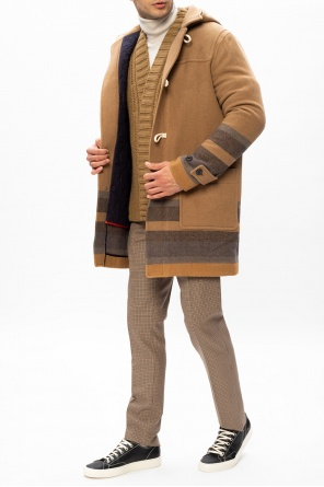 Hooded wool coat od PS Paul Smith