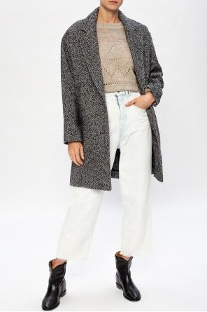 Notch lapel coat od Isabel Marant Etoile