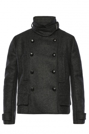 Strap collar coat od Isabel Marant