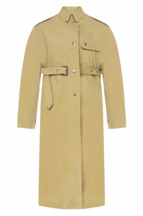 Trench coat with epaulettes od Isabel Marant