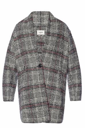 Coat with a plaid motif od Isabel Marant Etoile