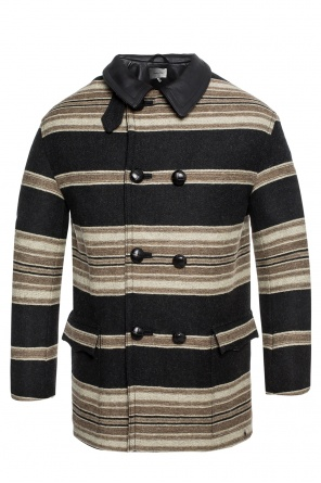 Striped double-breasted coat od Isabel Marant