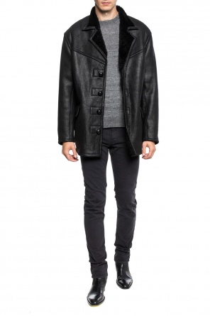 Shearling jacket with collar od Isabel Marant