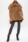 Isabel Marant Leather poncho