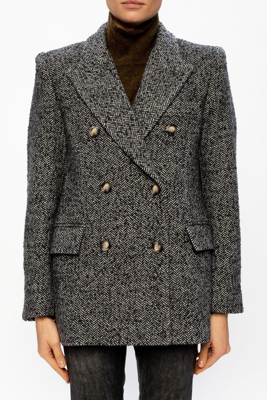 Isabel Marant Etoile Coat with notch lapels