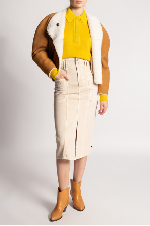 Shearling coat od Isabel Marant