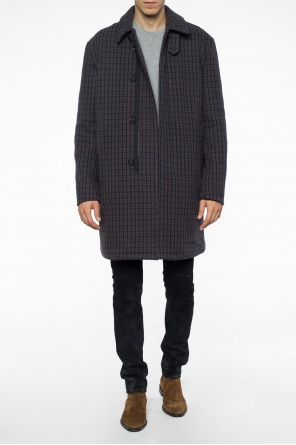 Checked coat od Acne