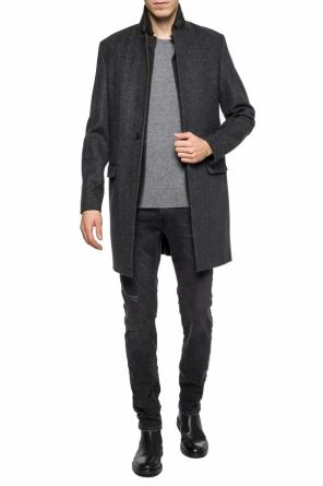 'merton' single-vented coat od AllSaints