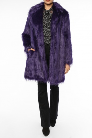 Cropped fur coat od Michael Kors