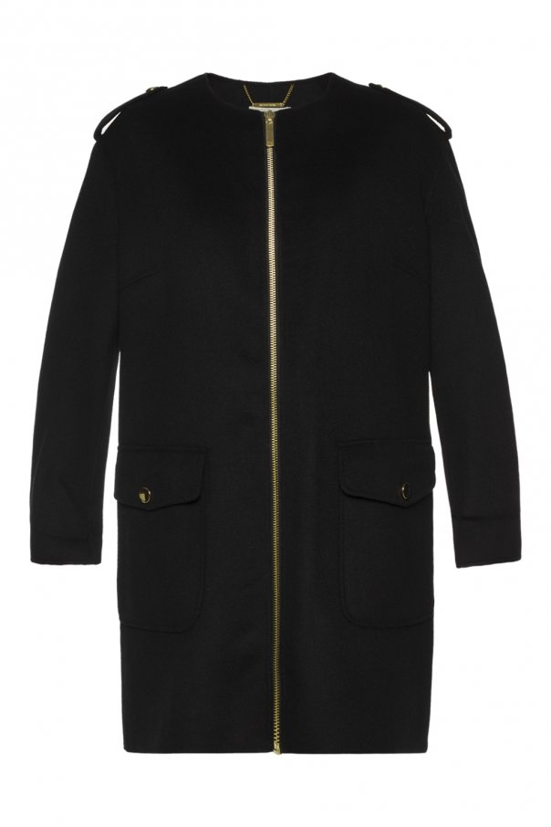 Michael Michael Kors Coat with epaulettes