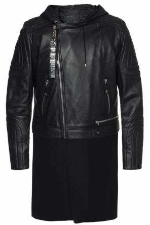 Coat with removable bottom od Philipp Plein