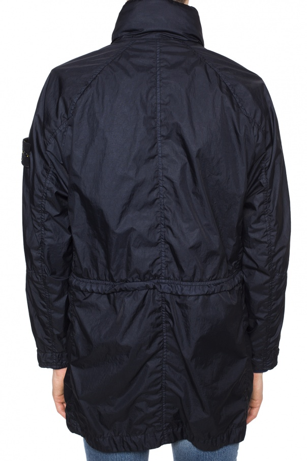 Patched coat od Stone Island